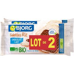 Galettes riz chocolat lait BIO