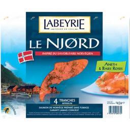 Le Njord - Saumon de Norvège, aneth/baies roses