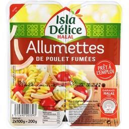 Allumettes de poulet halal fumées Isla Délice
