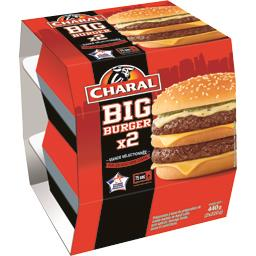 Charal Big Burger les 2 boites de 220 g