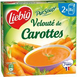 Liebig Pur'Soup - Velouté de carottes les 2 briques de 30 cl