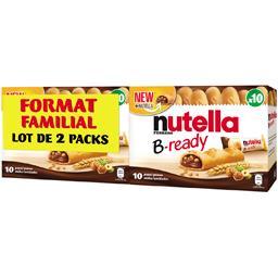 Nutella Biscuits B-ready le lot de 2 boîtes de 220 g - Format Familial
