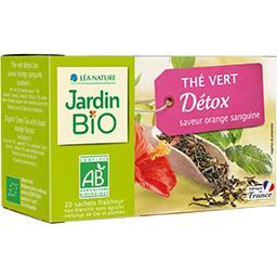 Thé vert Detox BIO saveur orange sanguine