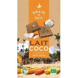 Chocolat lait coco BIO