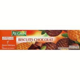 Biscuits diététiques au chocolat, tonus et vitalité