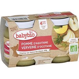 Desserts pomme d'Aquitaine vanille BIO, dès 4 mois