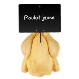 Poulet fermier jaune PAC Label Rouge