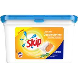 Skip Capsules double action Touche d'agrumes