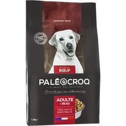 Croquettes riche en bœuf pour chien adulte >25 kg