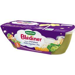 Blédîner - Douceur d'Artichaut petit légumes et riz,...