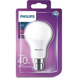 LED standard 40 W B22 Dépolie 2700 K