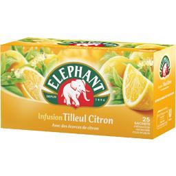 Infusion tilleul citron