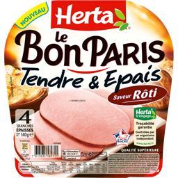 Le Bon Paris - Jambon Tendre & Epais saveur rôti