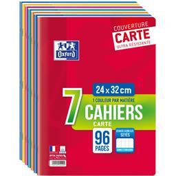 Cahiers agrafés 24x32 90 g seyès