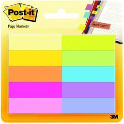 Marque-pages en papier couleurs assorties