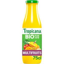 Tropicana Jus multifruits BIO la bouteille de 75 cl