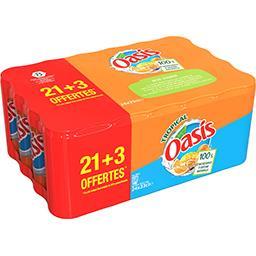 Oasis Boisson Tropical les 21 canettes de 33 cl