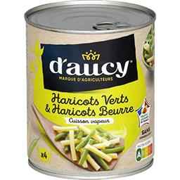 Duo haricots verts haricots beurre