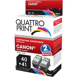 Pack cartouches d'encre compatibles Canon PG-40/CL-4...