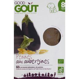 Pennes aux aubergines BIO, dès 8 mois