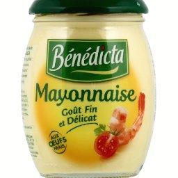 Mayonnaise aux œufs frais