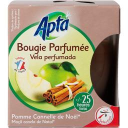 Apta Bougie parfumée pomme cannelle de Noël la bougie de 130 g