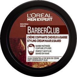 BarberClub - Crème coiffante cheveux & barbe