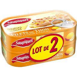 Saveur du Sud - Filets de thon duo citron & piment