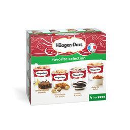 Häagen-Dazs Assortiment de crèmes glacées Favorite Selection