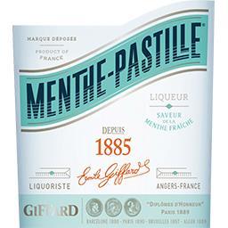 Liqueur Menthe Pastille