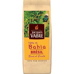 Jacques Vabre Café moulu notes de Bahia Brésil