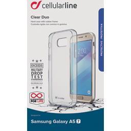 Coque silicone bi matière translucide Samsung Galaxy A52017