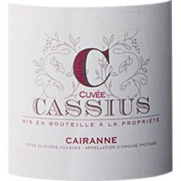 Cairanne Cuvée Cassius vin Rouge 2017