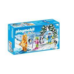 Family Fun - Moniteur de ski avec enfants 4-10