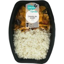 Colombo de poulet et riz thaï