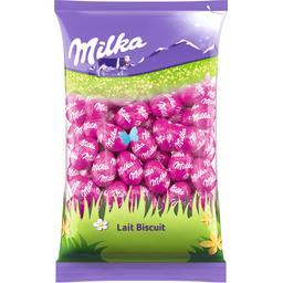 Milka Œufs en chocolat lait biscuit