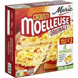 Crousti Moelleuses - Pizza Originale 3 fromages