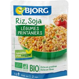 Veggie - Riz, soja, légumes BIO