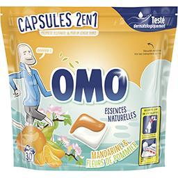Capsules de lessive 2en1 fleurs d'agrumes
