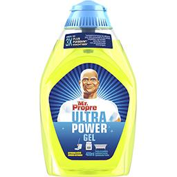 Ultra power - citron - nettoyant concentré multi-usa...