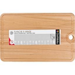 Planche à découper en bois 40 x 26 x 2 cm
