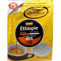 Dosettes de café moulu Ethiopie