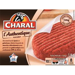 Steak haché l'Authentique pur bœuf 10% MG