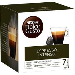 Dolce Gusto - Capsules de café Espresso Intenso