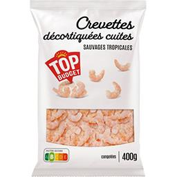 Crevettes sauvages décortiquées cuites