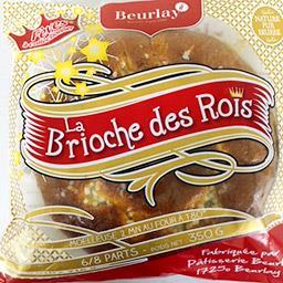 Beurlay Brioche des rois 6/8 parts Sachet individuel 350 gr