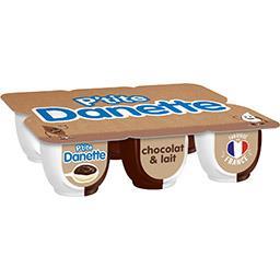 Danone Danone P'tite Danette - Crème dessert au chocolat et lait