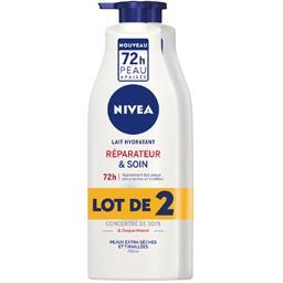 Lait hydratant réparateur & soin peaux desséchées ou...