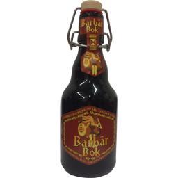 Bière forte brune Barbar Bok au miel