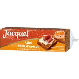 Mini pain d'épices abricot noisettes Jacquet